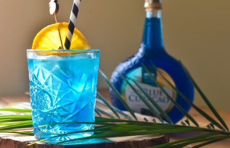 Blue Gin Delight