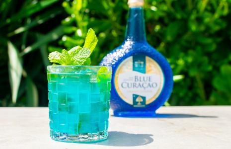 Senior's Blue Mojito