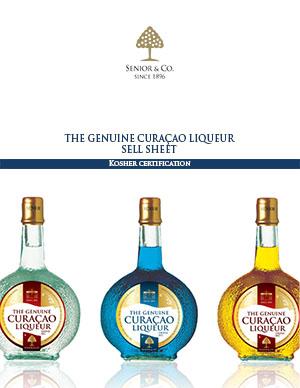 Senior's Curaçao Liqueurs - Kosher